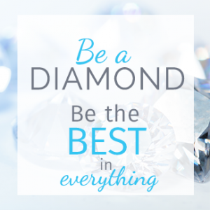 Be A Diamond Program Button